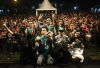 Habis Launching Single Merpati band Langsung Show